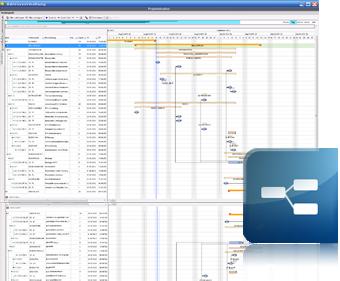 screenshot Projektverwaltung